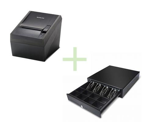 BIXOLON SRP330 SER/USB + CASH DRAWER 4N/8C