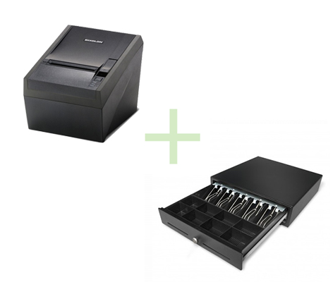 BIXOLON SRP330 SER/USB + CASH DRAWER 5N/8C